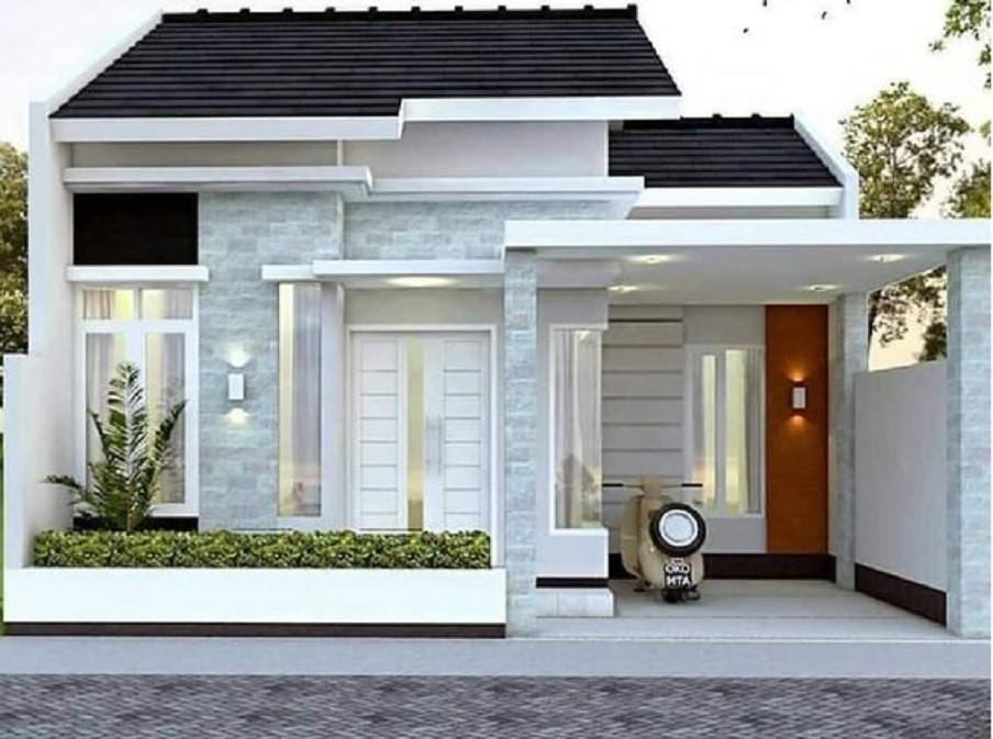 Model Desain Rumah Minimalis Terbaru Tahun 2021 2