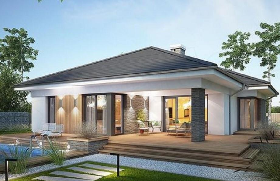 Model Desain Rumah Minimalis Terbaru Tahun 2021 4