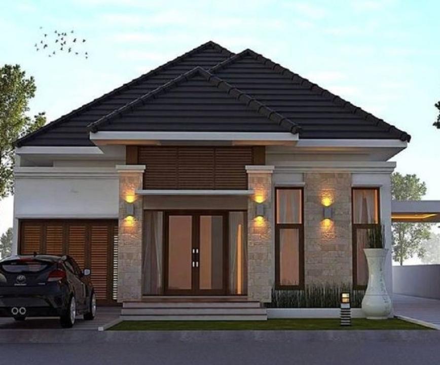 Model Desain Rumah Minimalis Terbaru Tahun 2021 3